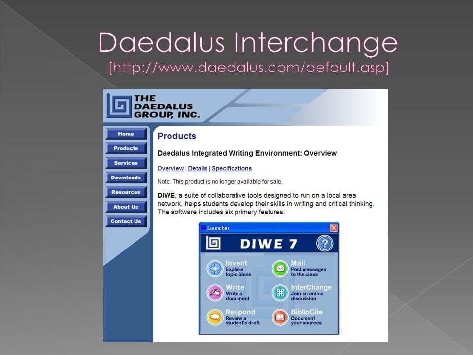 Daedalus Interchange [http://www.daedalus.com/default.asp]